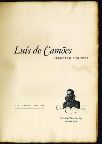Luis de Camoes / Selected Sonnets: de Camoes, Luis;