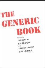 9780226092911: The Generic Book (Studies in Communication, Media, and Public Opinion)