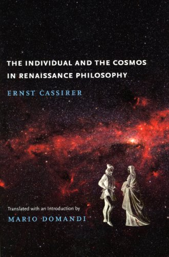 9780226096070: The Individual and the Cosmos in Renaissance Philosophy