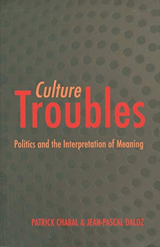 9780226100418: Culture Troubles: Politics and the Interpretation of Meaning