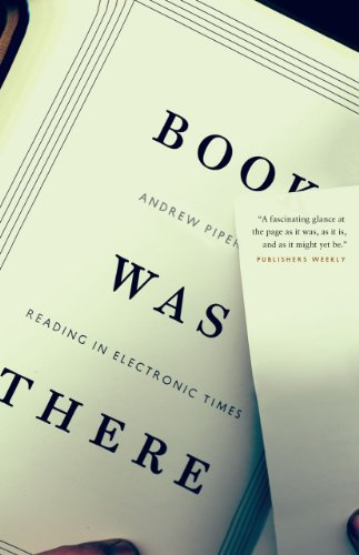9780226103488: Book Was There: Reading in Electronic Times