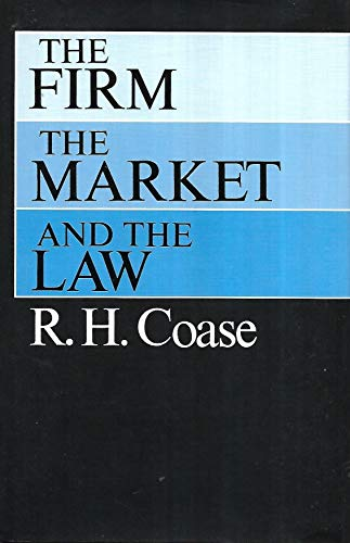 9780226111001: Firm, the Market and the Law
