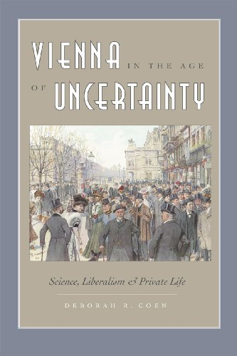 9780226111735: Vienna in the Age of Uncertainty: Science, Liberalism, and Private Life