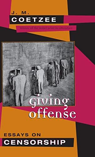 9780226111742: Giving Offense: Essays on Censorship