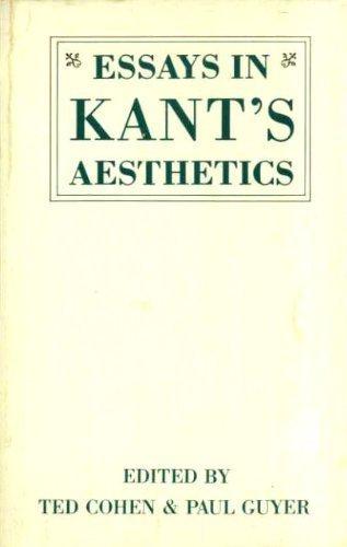 9780226112275: Essays in Kant's Aesthetics
