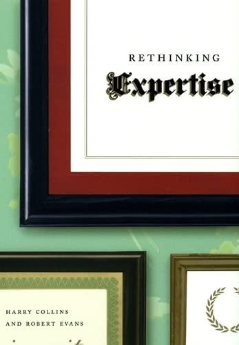 9780226113609: Rethinking Expertise