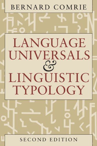 9780226114330: Language Universals and Linguistic Typology: Syntax and Morphology