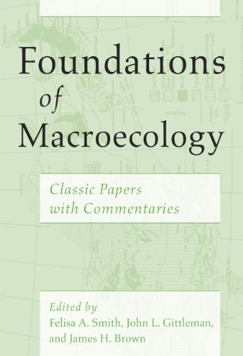 9780226115474: Foundations of Macroecology