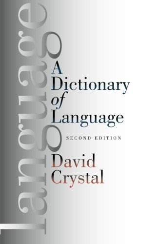 9780226122038: A Dictionary of Language