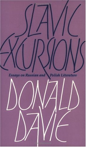 Slavic Excursions: Essays on Russian and Polish Literature
