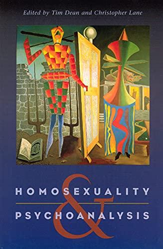 9780226139364: Homosexuality and Psychoanalysis
