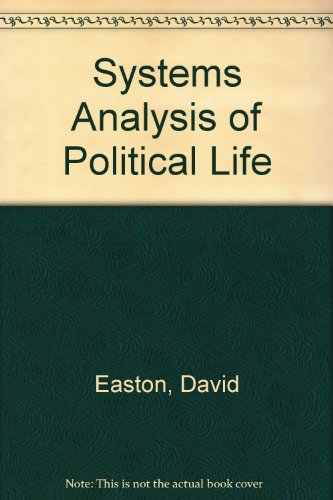 9780226140711: Systems Analysis of Political Life