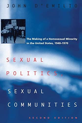 9780226142678: Sexual Politics, Sexual Communities: Second Edition