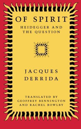 9780226143194: Of Spirit: Heidegger and the Question