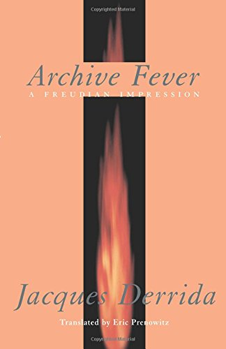 9780226143675: Archive Fever: A Freudian Impression (Religion and Postmodernism)