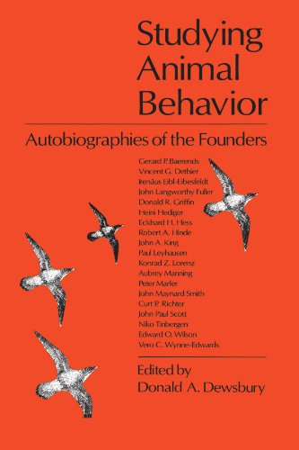 9780226144108: Studying Animal Behavior: Autobiographies of the Founders
