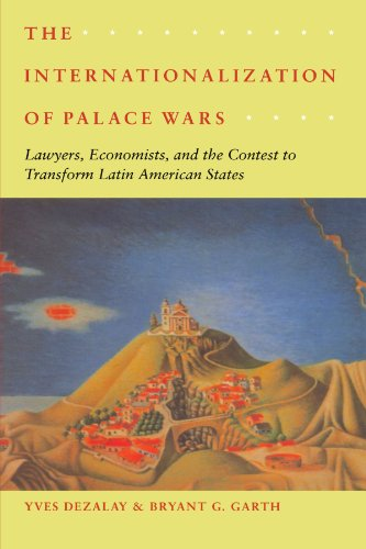 9780226144269: The Internationalization of Palace Wars: Lawyers, Economists, and the Contest to Transform Latin American States (Chicago Series in Law and Society)