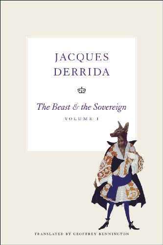 9780226144290: The Beast and the Sovereign, Volume I (The Seminars of Jacques Derrida) (Volume 1)