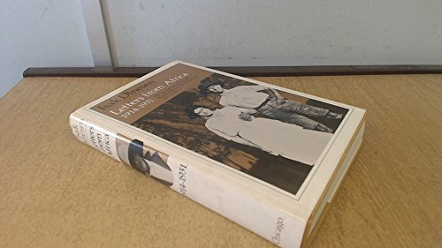 9780226153094: Letters from Africa, 1914-1931