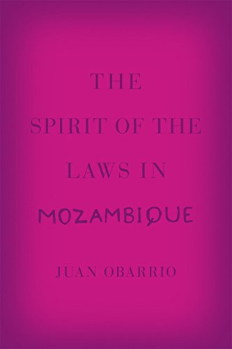 9780226153865: The Spirit of the Laws in Mozambique