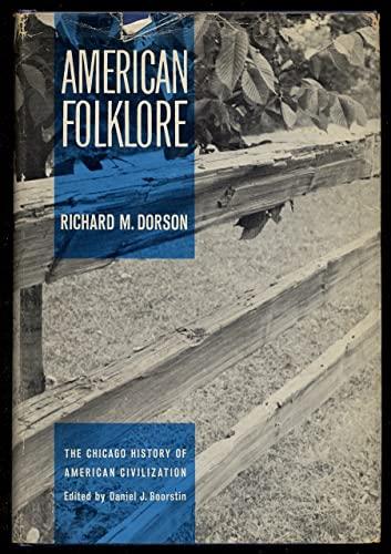 9780226158587: American Folklore