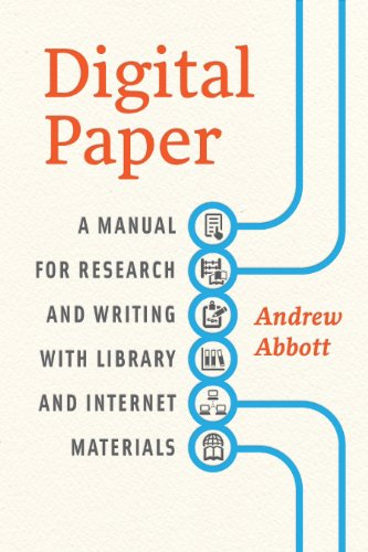 9780226167640: Digital Paper: A Manual for Research and Writing with Library and Internet Materials (Chicago Guides to Writing, Editing, and Publishing)