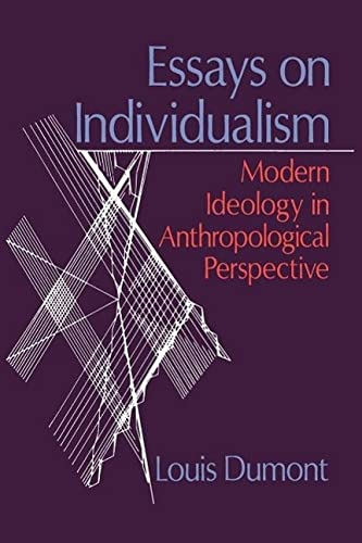 9780226169583: Essays on Individualism: Modern Ideology in Anthropological Perspective