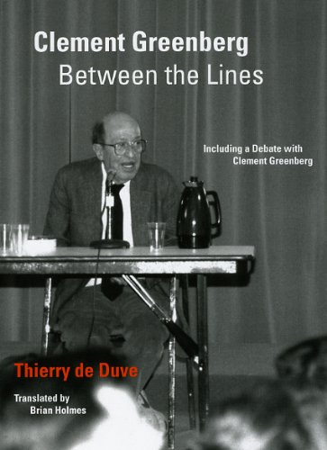 9780226175164: Clement Greenberg Between the Lines: Including a Debate with Clement Greenberg