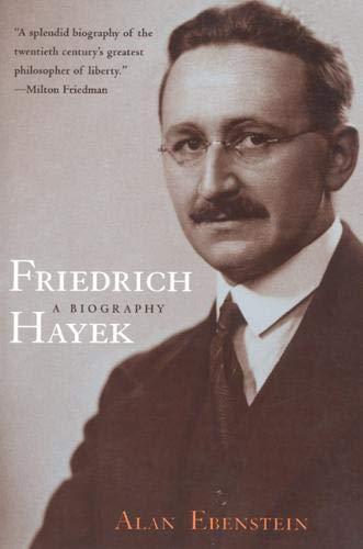 9780226181509: Friedrich Hayek: A Biography