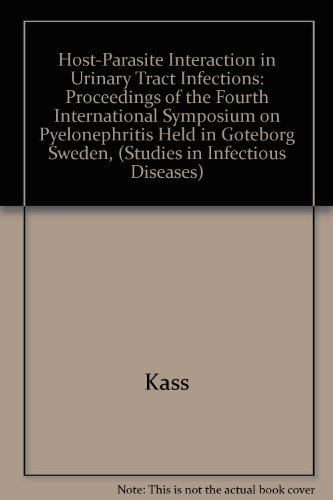 9780226184432: Host-Parasite Interaction in Urinary Tract Infections (Studies in Infectious Diseases Research)