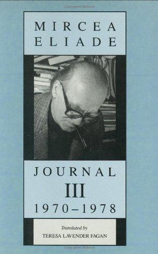 9780226204086: Journal III: 1970-1978