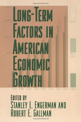 9780226209296: Long-Term Factors in American Economic Growth (National Bureau of Economic Research Studies in Income and Wealth)