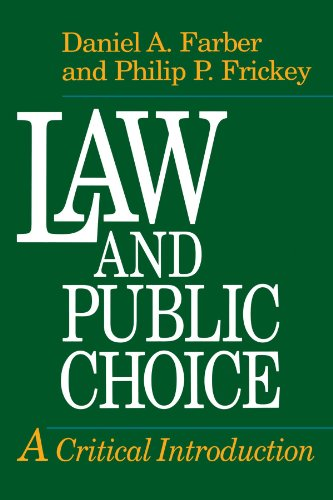 9780226238036: Law and Public Choice: A Critical Introduction