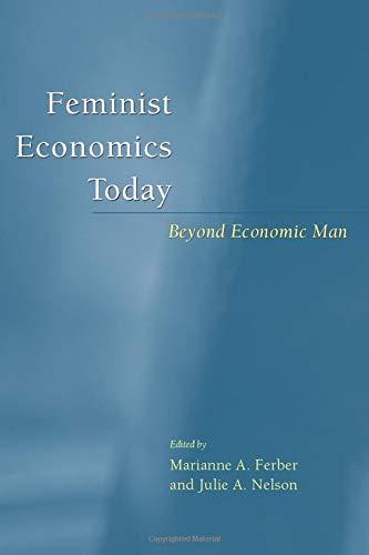 9780226242071: Feminist Economics Today: Beyond Economic Man