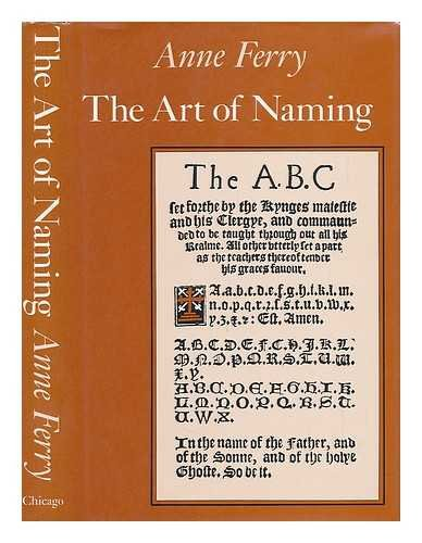 9780226244648: The Art of Naming