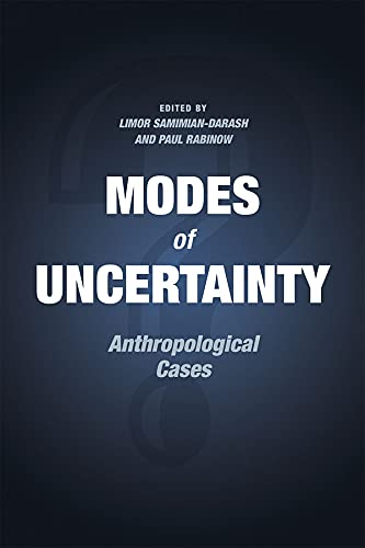 9780226257075: Modes of Uncertainty: Anthropological Cases