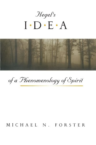 9780226257426: Hegel's Idea of a Phenomenology of Spirit