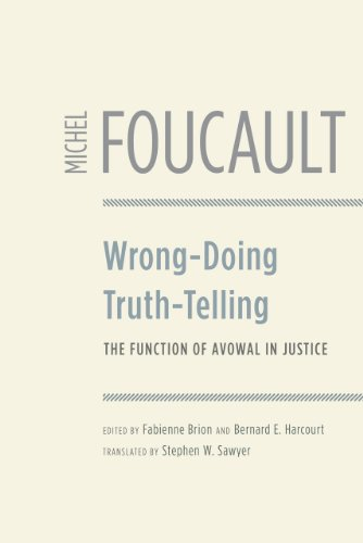 9780226257709: Wrong-Doing, Truth-Telling: The Function of Avowal in Justice