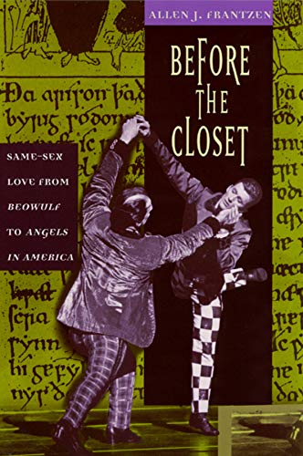 9780226260921: Before the Closet: Same-Sex Love from
