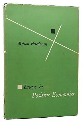 9780226264028: Essays in Positive Economics