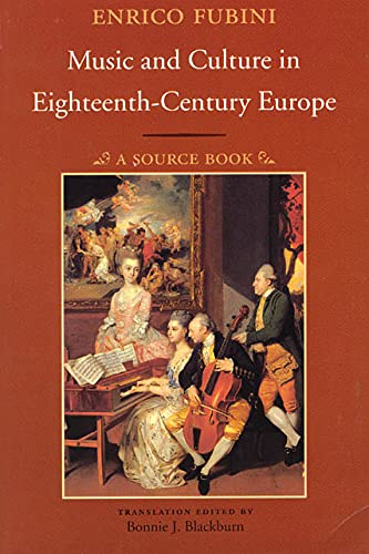 9780226267326: Music and Culture in Eighteenth-Century Europe: A Source Book