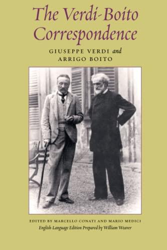 9780226273891: The Verdi-boito Correspondence