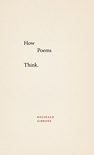 9780226277950: How Poems Think