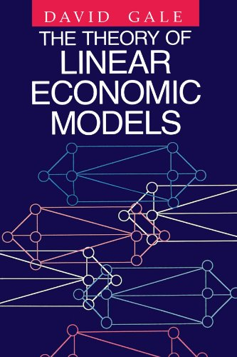 9780226278841: The Theory of Linear Economic Models