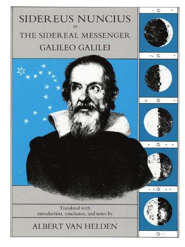 9780226279039: Sidereus Nuncius or the Sidereal Messenger Galileo Galilei