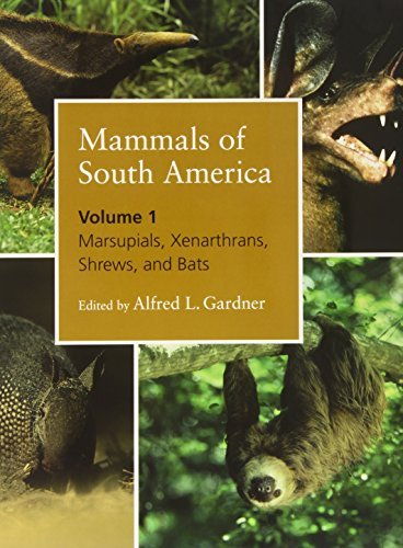 9780226282404: Mammals of South America, Volume 1: Marsupials, Xenarthrans, Shrews, and Bats: Marsupials, Xenarthrans, Shrews, and Bats v. 1