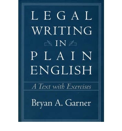 9780226284194: Legal Writing in Plain English: A Text With Exercises