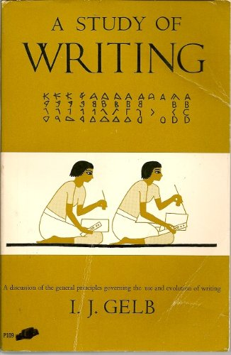 9780226286068: Study of Writing (Phoenix Books)