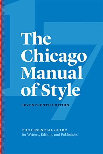 9780226287058: The Chicago Manual of Style, 17th Edition