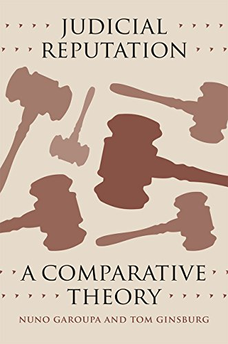 9780226290591: Judicial Reputation: A Comparative Theory